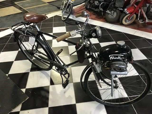 1953 durkopp bicycle flink engine