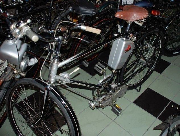 1954 diamant bicycle steppke engine