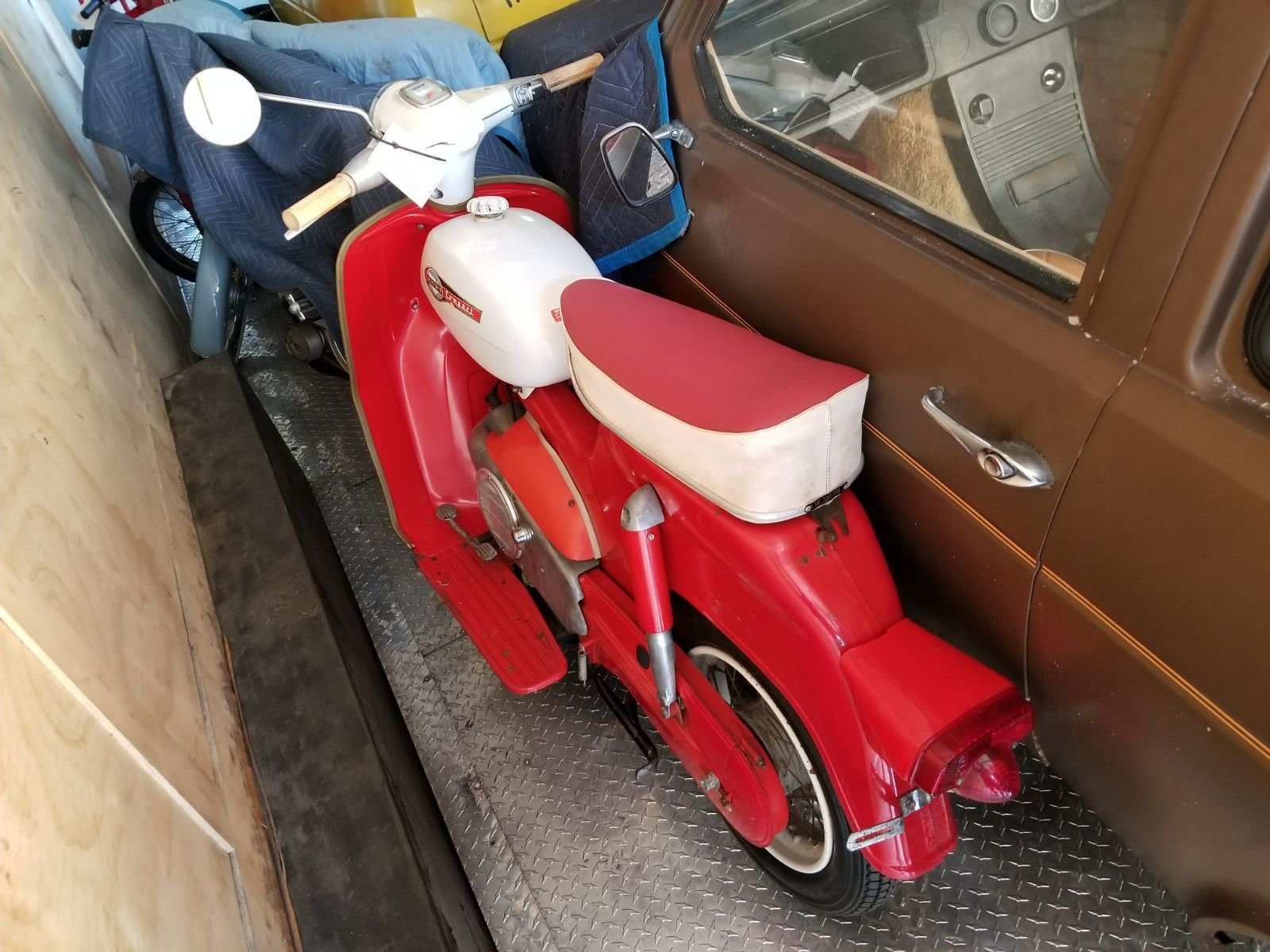 1966 allstate vespa scooter