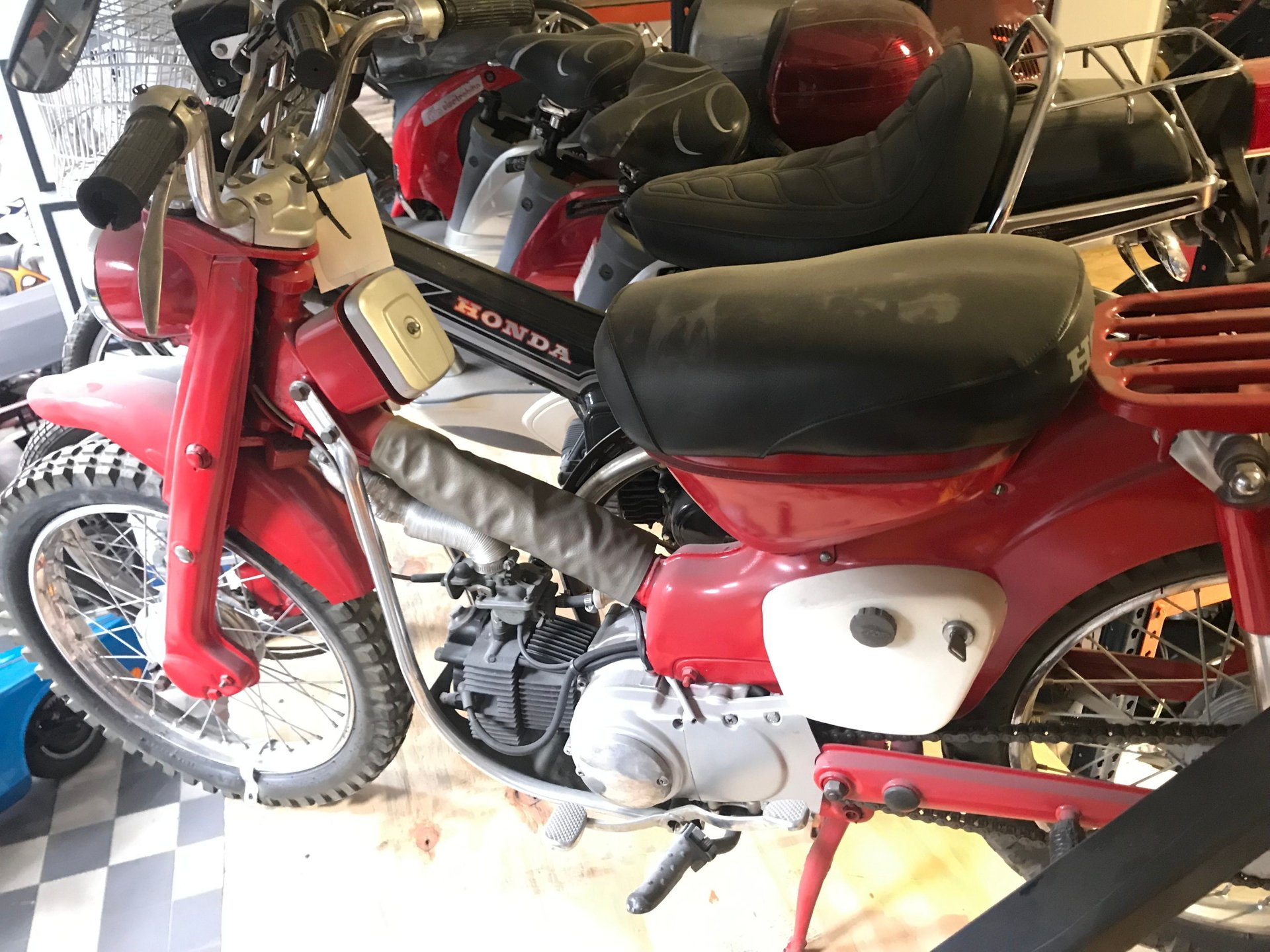 1965 honda 90 ct 200