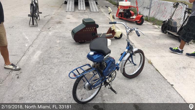 1960 aquila motorbike