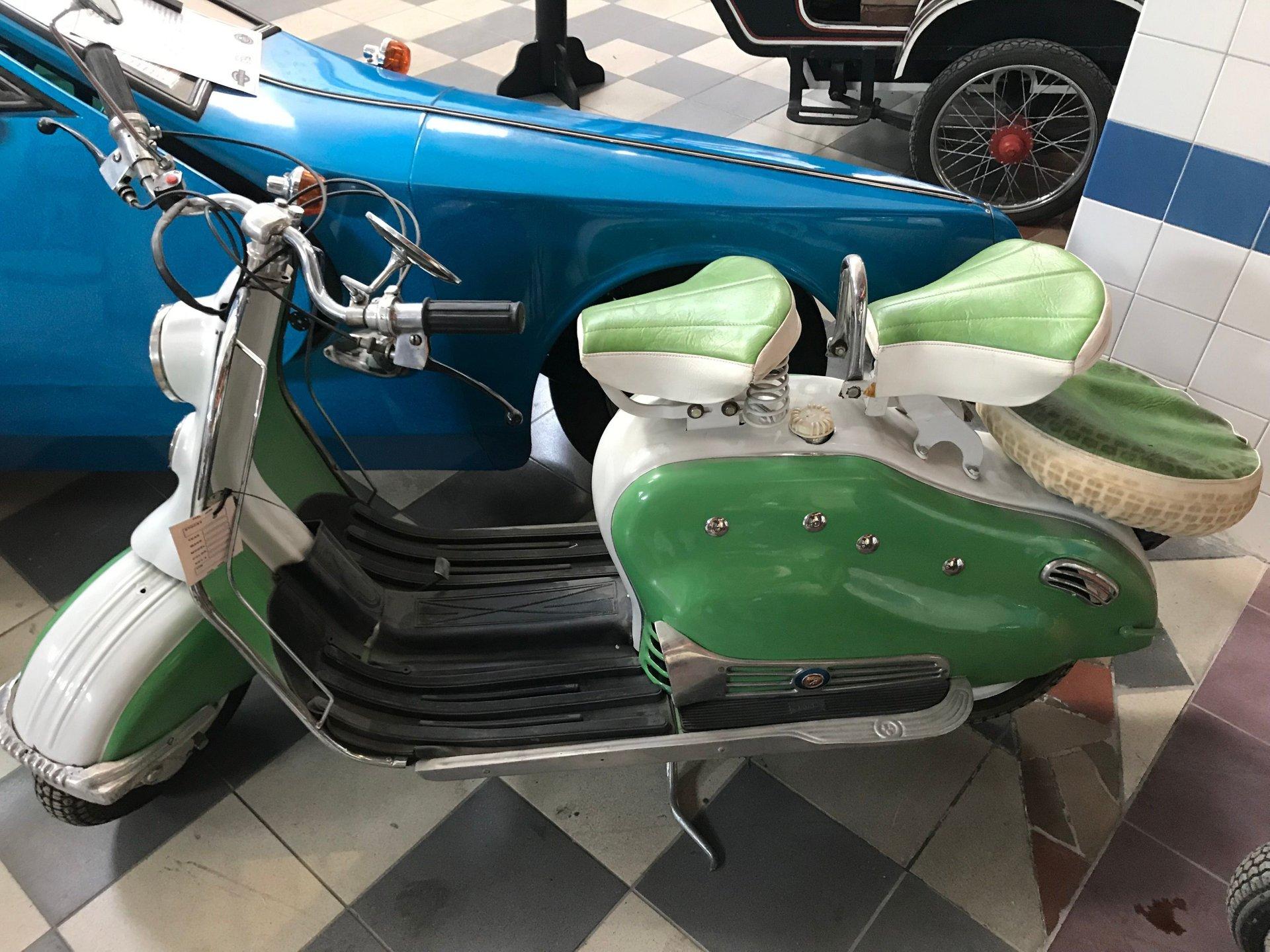 1957 lambretta 150d