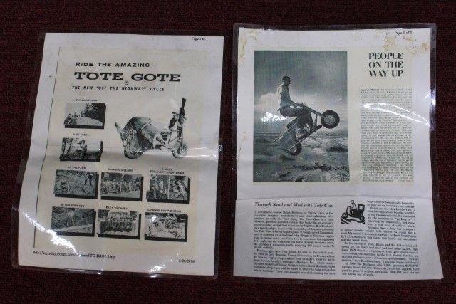 1960's BONHAM CORP. TOTE GOTE