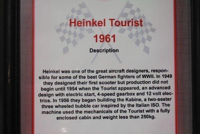 1961 Heinkel TOURIST