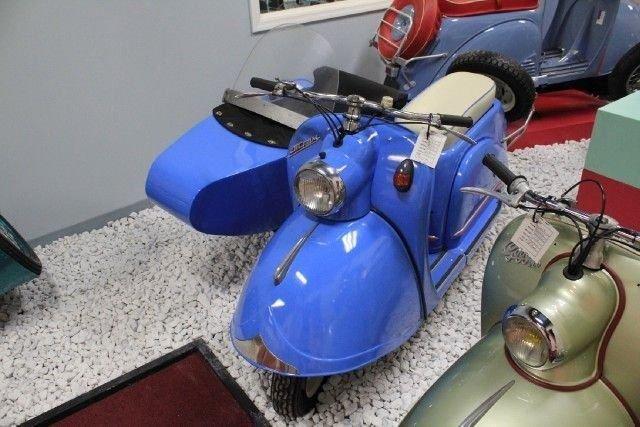 1955 goggo bike sidecar