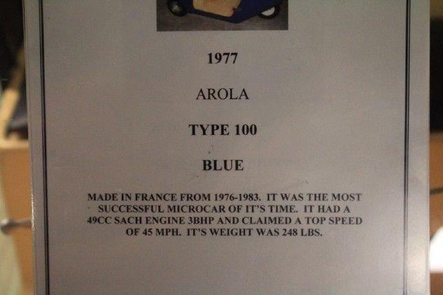 1977 AROLA TYPE 100