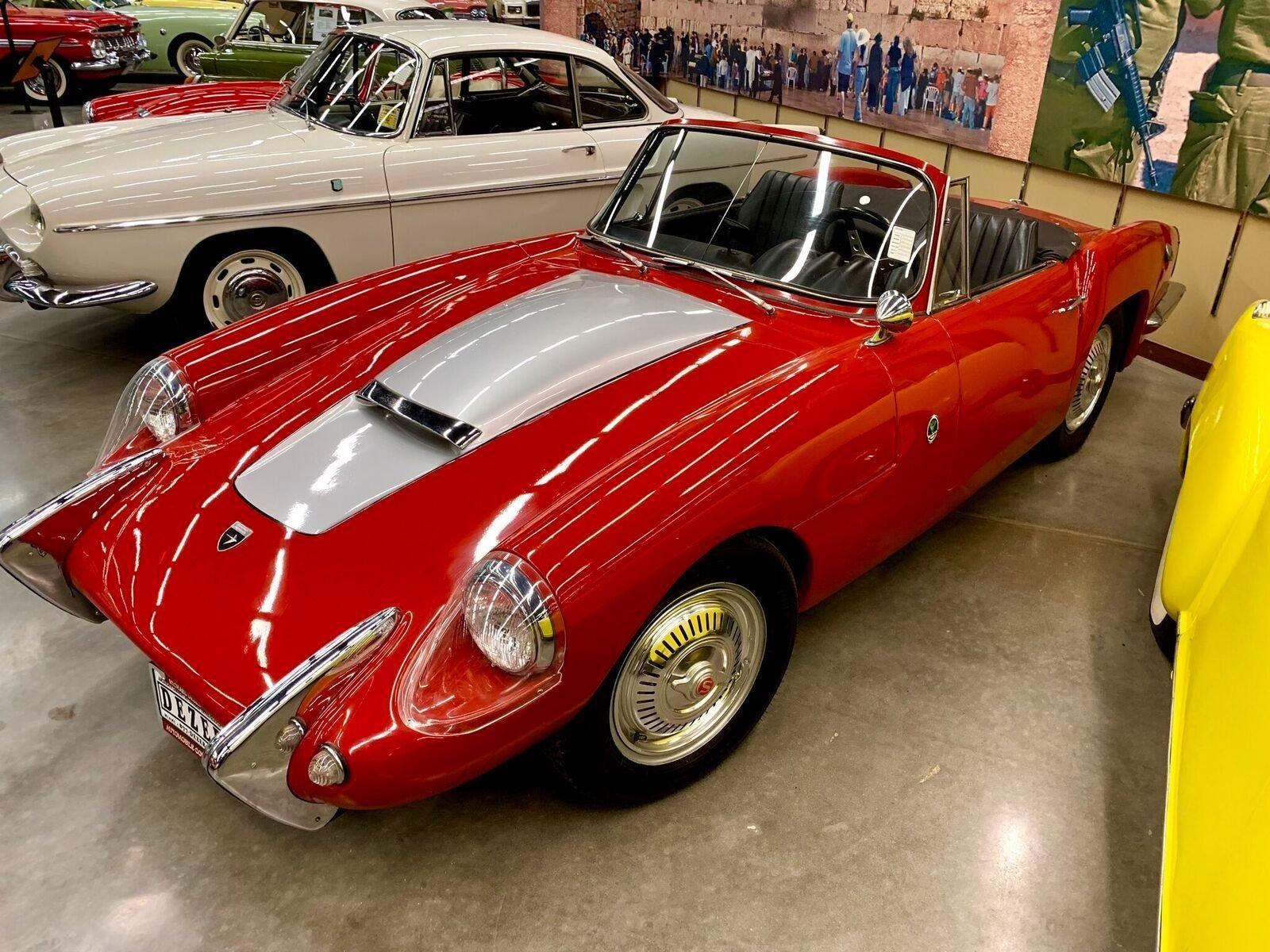 1963 sabra roadster sport