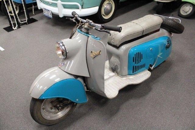 1958 IWL MOTORROLLER WIESEL SR56