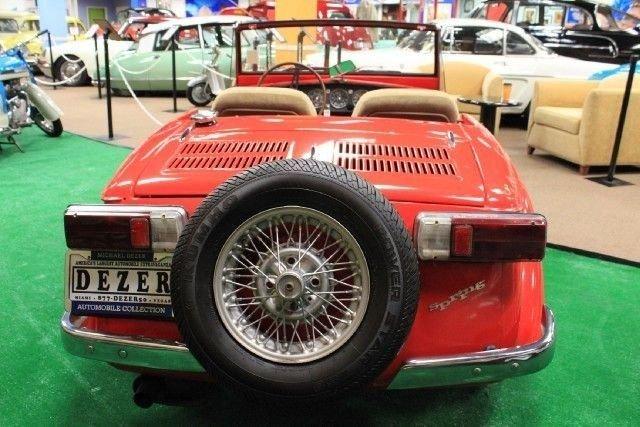 1970 Fiat SPRING SIATA