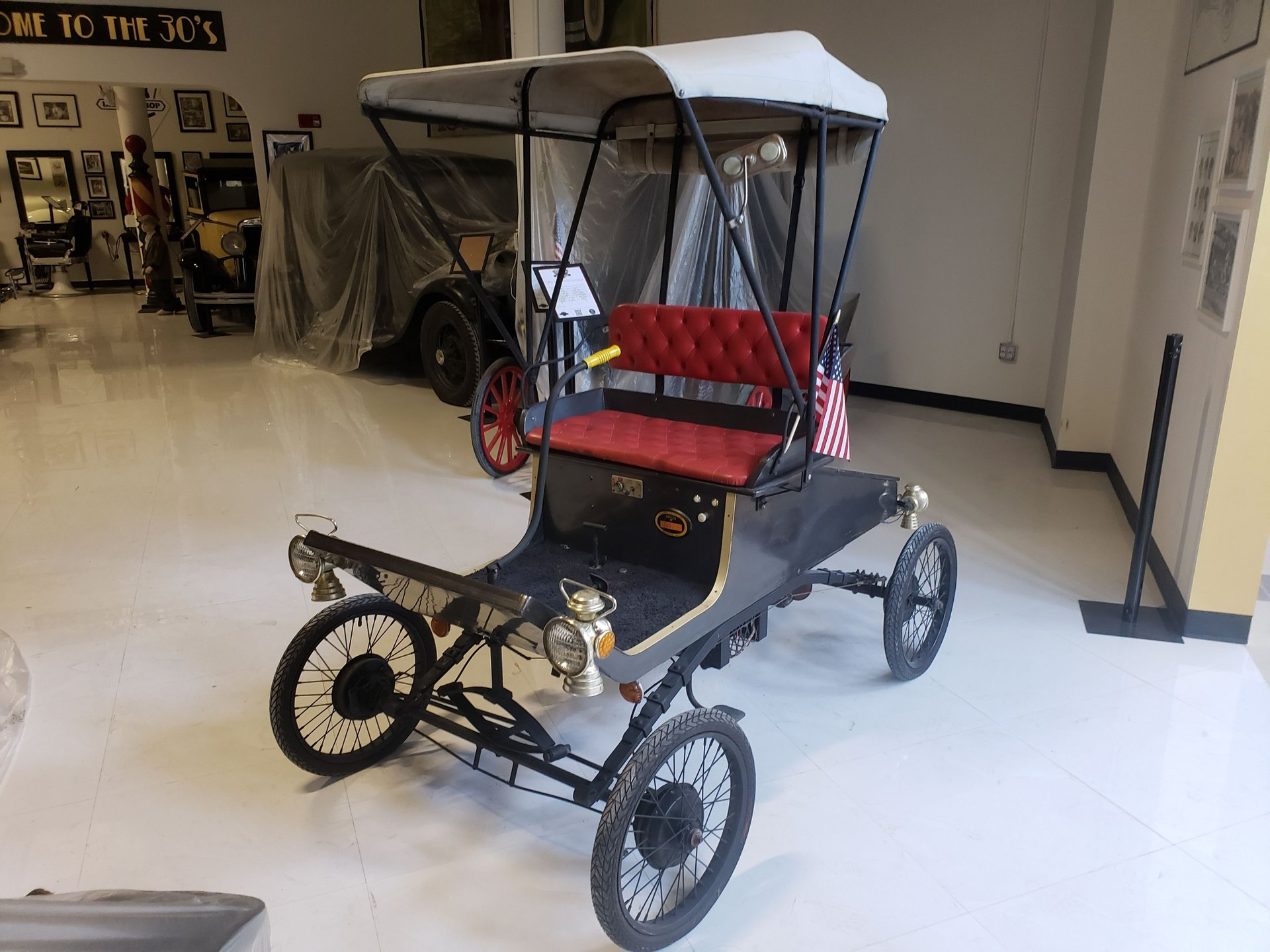 1901 horseless carriage corp replica ford
