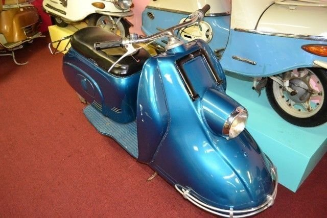 1957 heinkel scooter