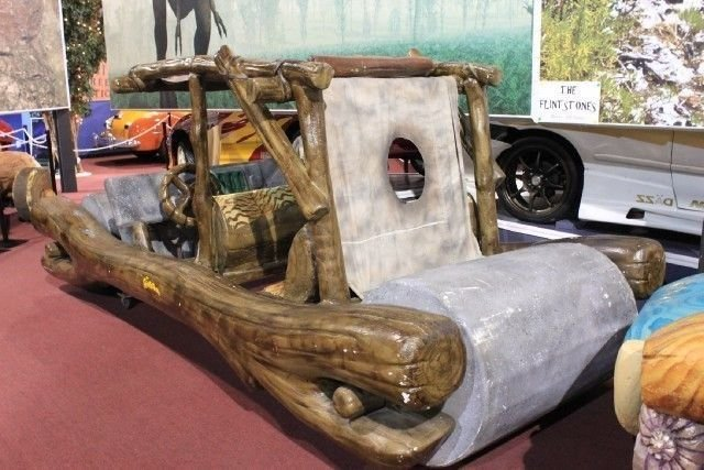 1994 FLINTSTONES FLINTMOBILE