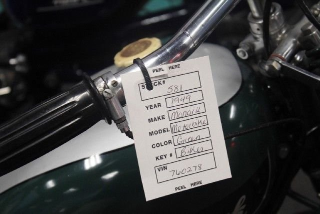 1949 MONARK MOTORBIKE