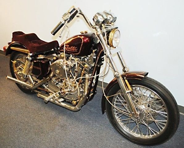 1975 Harley Davidson SPORTSTER / 24K XLCH CUSTOM