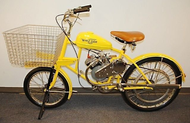 1957 whizzer delivery cycle