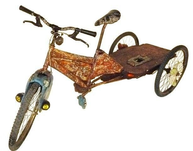 Wooden tricycle custom