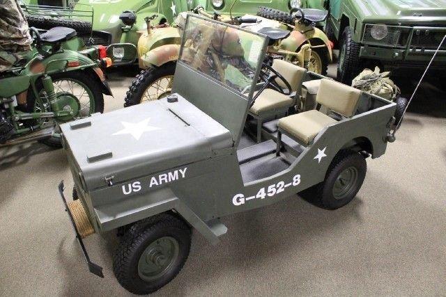 1960 s mini jeep jeep cart