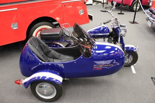 NONE LISTED CUSHMAN EAGLE MOTORCYCLE