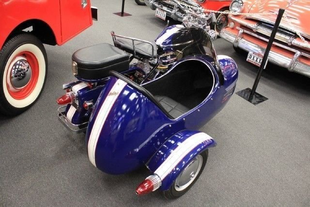 1959 CUSHMAN EAGLE MOTORCYCLE