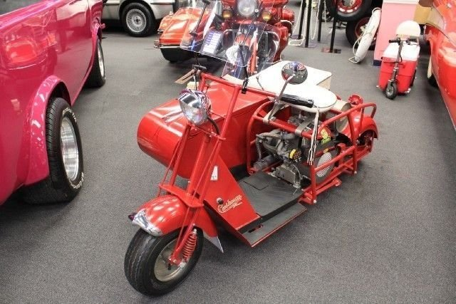 1949 cushman varimatic scooter sidecar