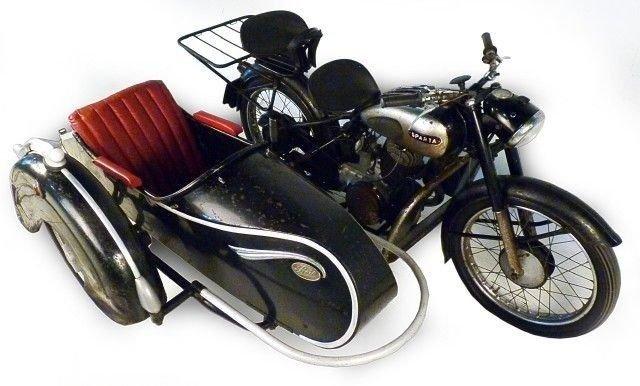 1952 sparta motorcycle