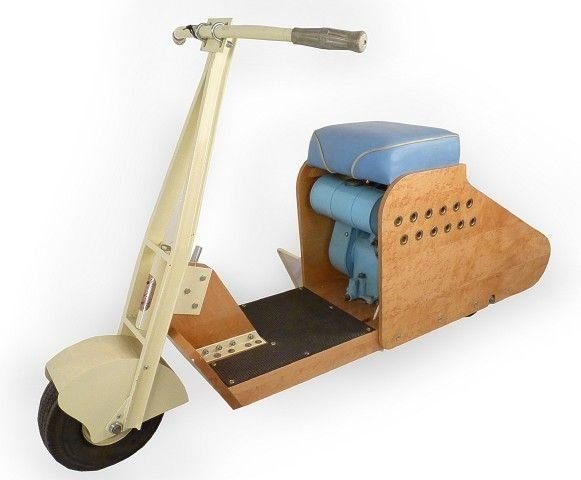 WOOD BODIED SCOOTER SKIPPER DELUXE