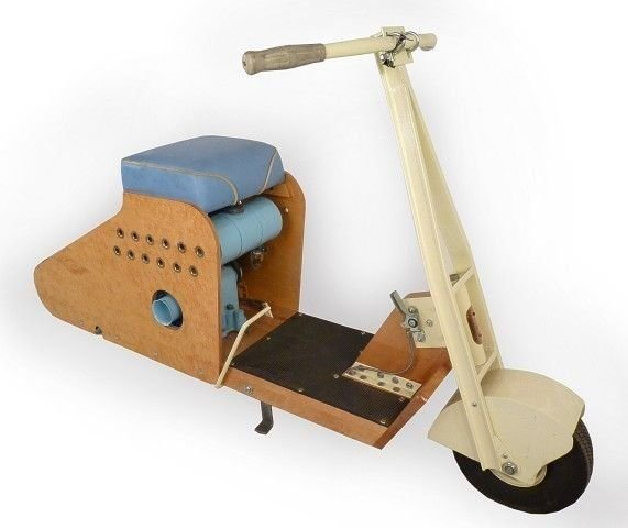 N/A WOOD BODIED SCOOTER SKIPPER DELUXE