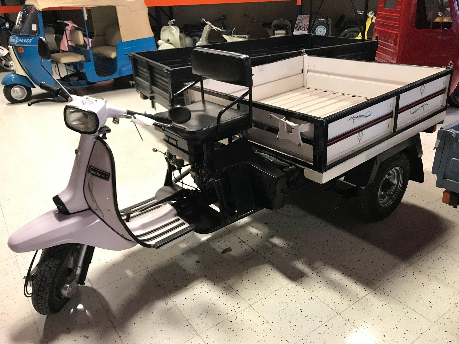 1992 lambretta 3 wheeler