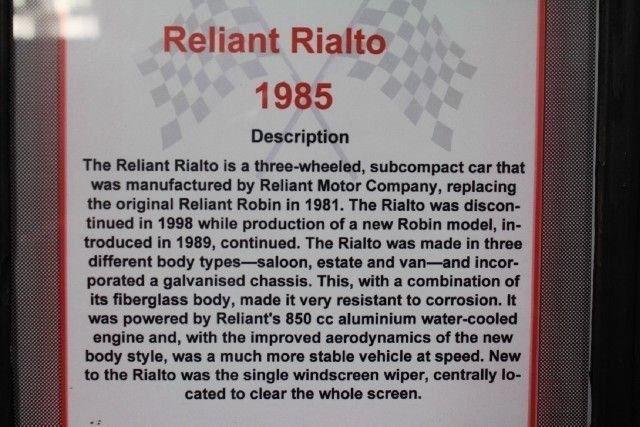1985 Reliant RIALTO GLS ESTATE