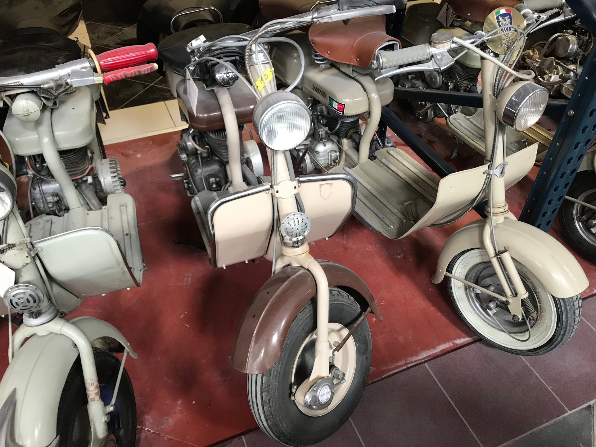 1952 lambretta scooter