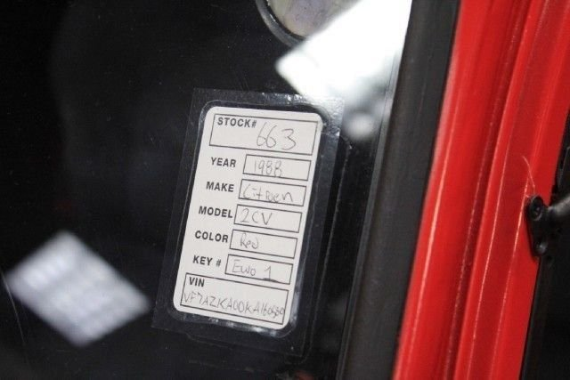 1988 Citroen 2CV