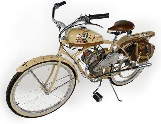 1950 whizzer roy rogers motorbike