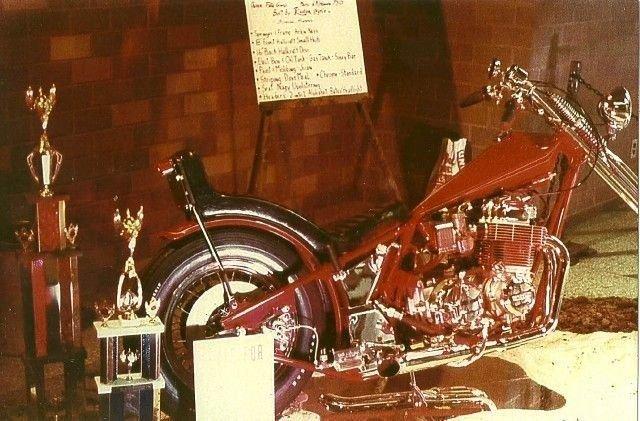 1977 Honda ARLEN NESS