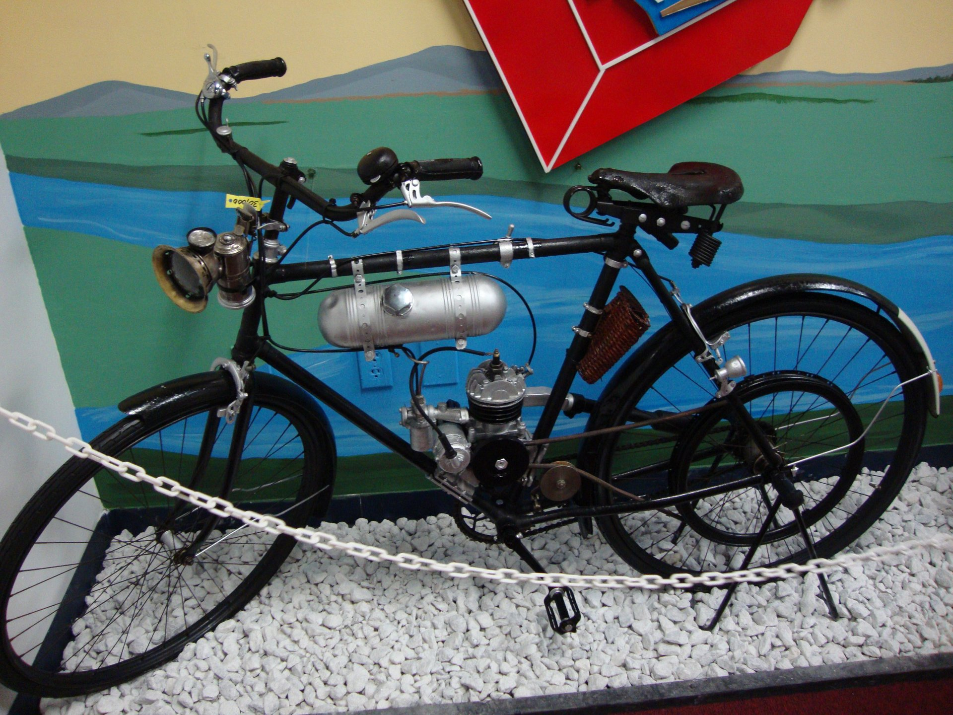 1919 baby triumph bicycle