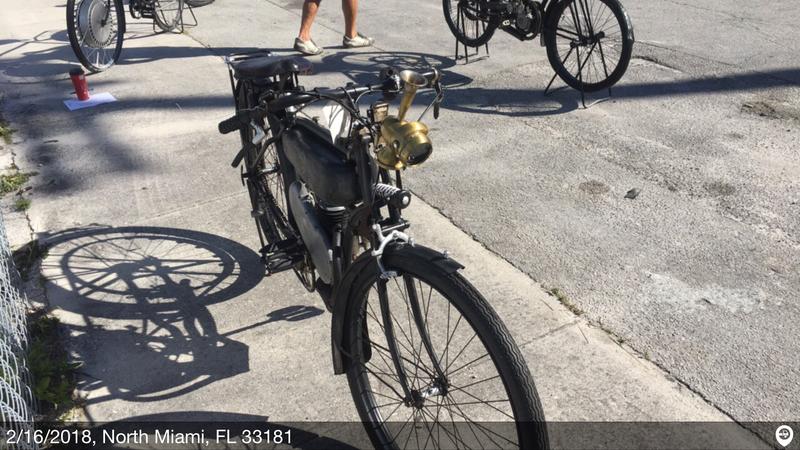 1921 la cyclette motorized bicycle