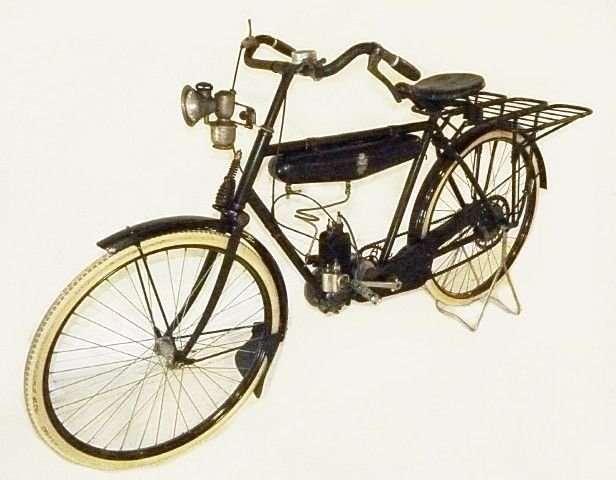 1926 accycon motorized bicycle
