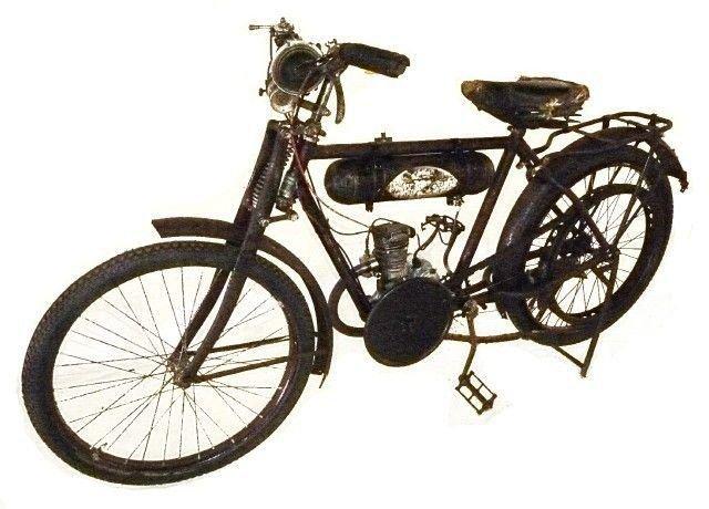 1928 moto komford motorized bicycle