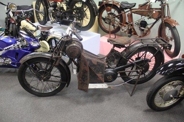 1952 TERROT MOTORCYCLE