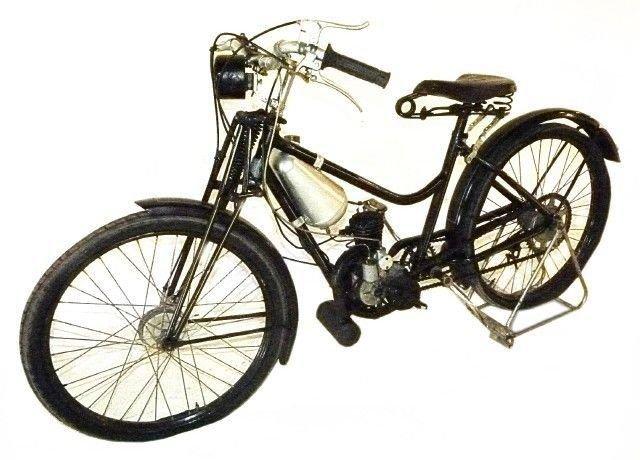 1934 motobecane motorized bicycle