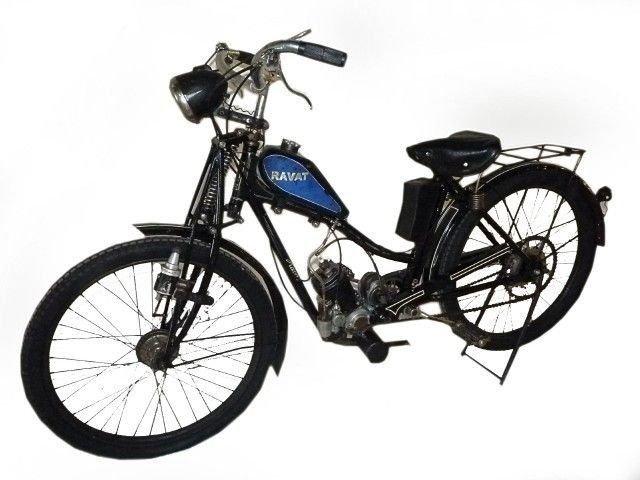 1934 ravat dames motorbike
