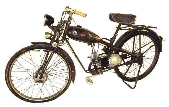 1950 gorelli motorized bicycle