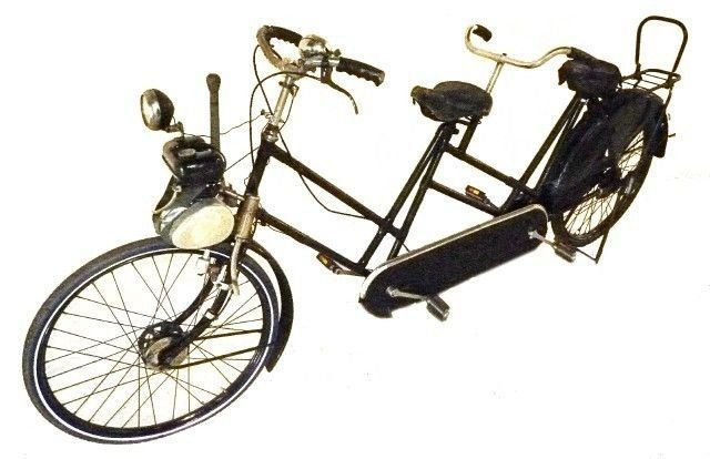 1950 topres motorized bicycle