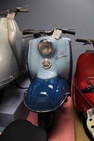 1957 triumph contessa scooter