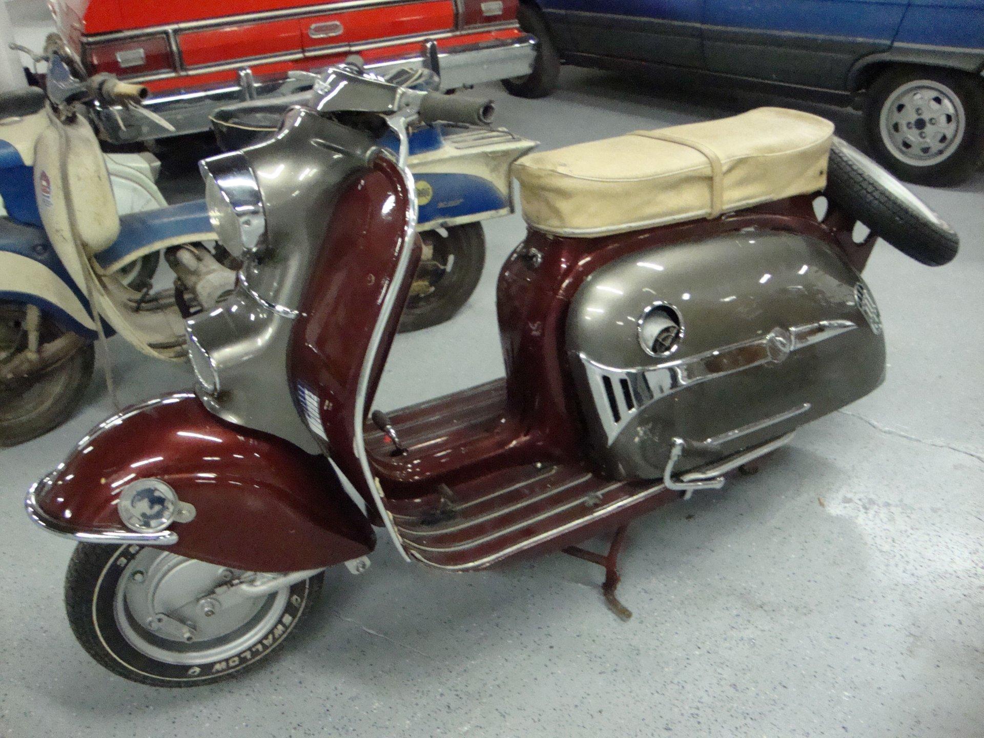 1960 durkopf diana scooter