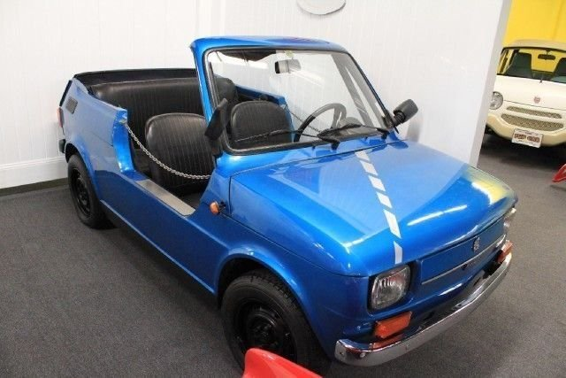 1976 fiat 126a old timer