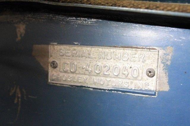 1950 Crosley WAGON