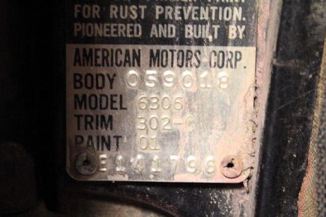 1963 Rambler AMERICAN 220