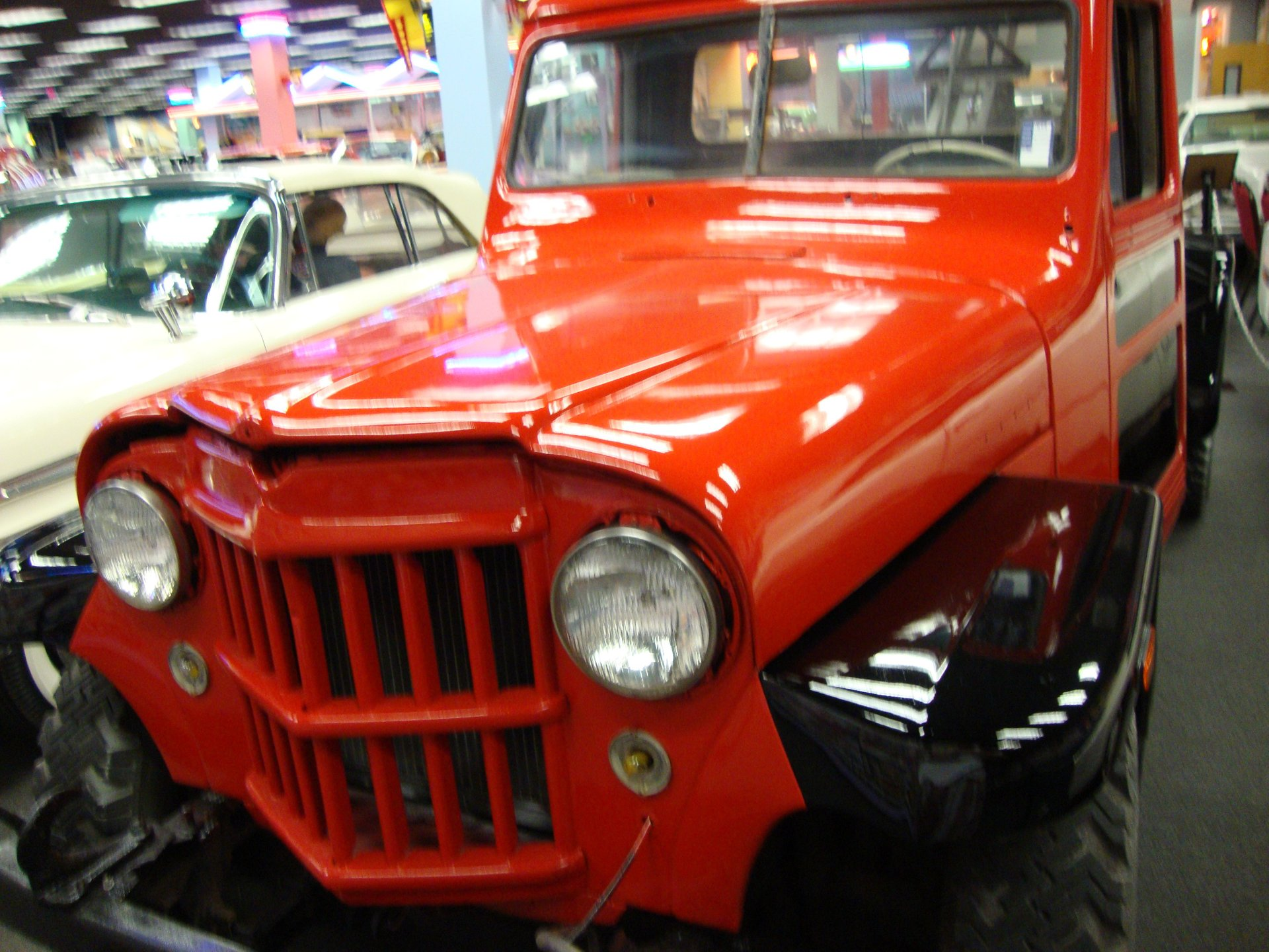1955 willys jeep tow truck