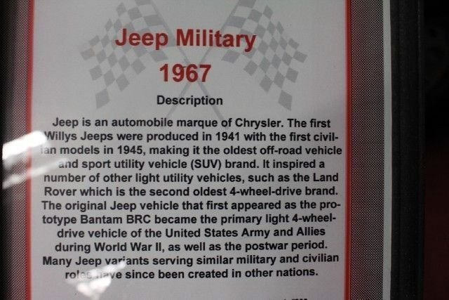 1967 Jeep Military