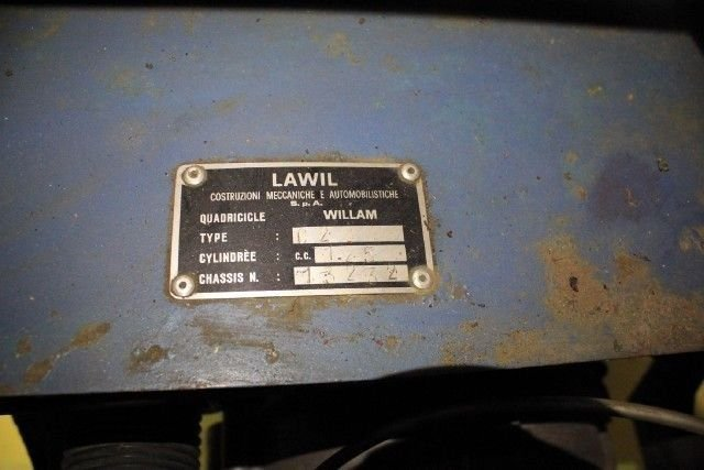 NONE LISTED LAMBRETTA WILLAM LAWIL